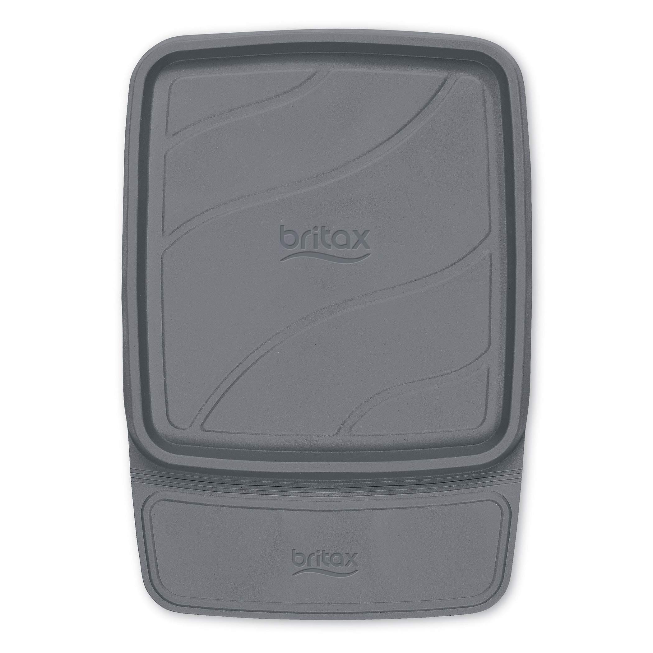 Britax Vehicle Seat Protector   Crash Tested + No Slip Grip + Waterproof Easy to Clean + Raised Edges Trap Spills and Debris