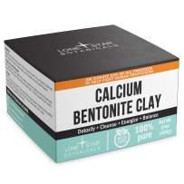 Bentonite Clay Powder Pharmaceutical Grade - 1 LB DIY Natural Face & Hair Mask, Detox, Deodorant, Toothpaste & Homemade Soap Ingredient - Gut Health & Balance + Toxin Removal, Internal & External Use
