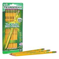 Pencils, Wood-Cased, Pre-Sharpened, Graphite #2 HB Soft, Yellow, 10-Pack - New