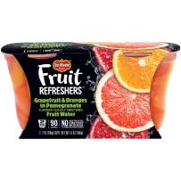 Del Monte Fruit Refreshers Snack Cups, Grapefruit & Oranges in Pomegranate Fruit Water, 2 Cups, 7-Ounce
