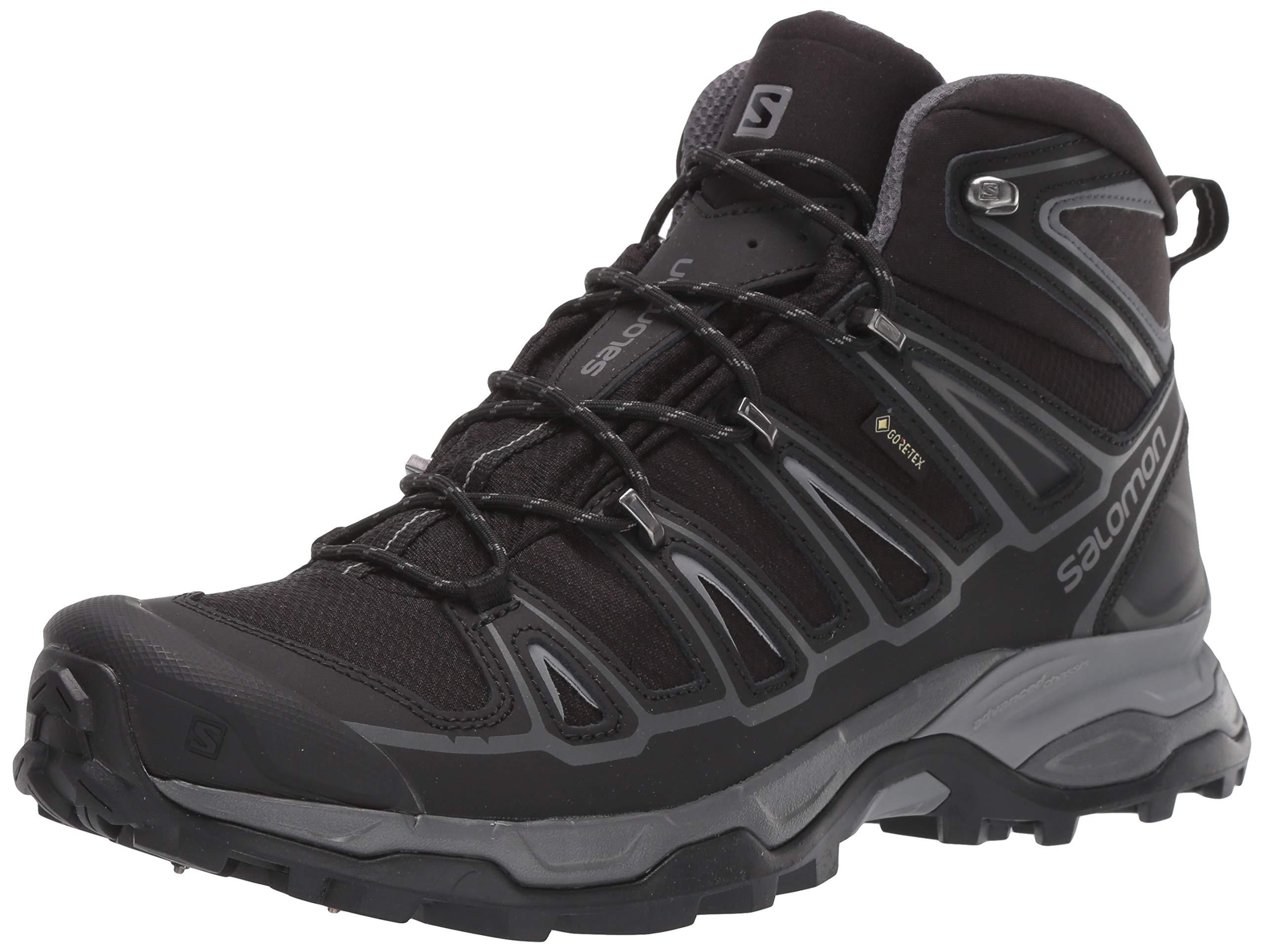 Salomon Men's X Ultra Mid 2 Spikes GTX Snow Boots