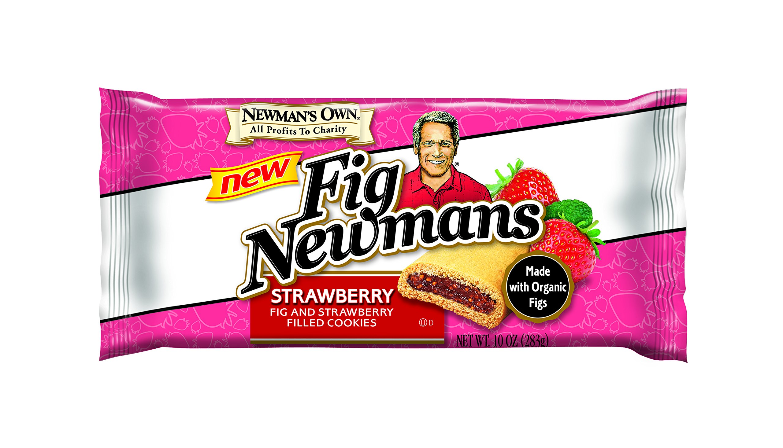 Newman's Own Fig Newmans, Strawberry, 10-oz. (Pack of 6)