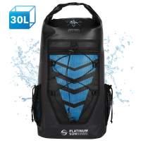 Platinum Sun 30L Waterproof Dry Bag Backpack - Rolltop Floating Backpacks - Sailing Bags for Kayaking Fishing Canoeing Kite Surfing Hiking Boating Swimming Water Sports