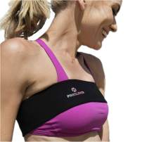 Breast Band, No-Bounce, High Impact Sports Bra Support Band | Post Surgery Bra Strap | Soft, Breathable Fabric