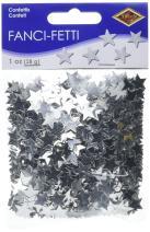 Fanci-Fetti Stars (silver) Party Accessory  (1 count) (1 Oz/Pkg)