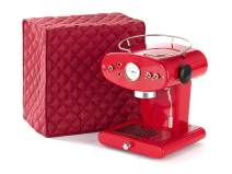 Covermates Keepsakes – Coffee Maker – Dust Protection - Stain Resistant - Washable – Appliance Cover - Red