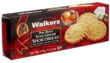 Walkers Stem Ginger Shortbread-6.2 oz