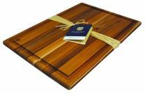 "Madeira Provo Teak Edge-Grain, Carving Board - 12"" x 18"""