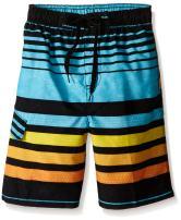 Kanu Surf Boys' Echo Quick Dry UPF 50+ Beach Swim Trunk