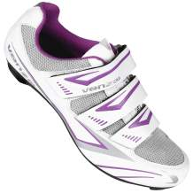 Venzo MX Bike Bicycle Women's Ladies Cycling Riding Shoes - Compatible with Peloton Shimano SPD & Look ARC Delta - Perfect for Indoor Exercise Bikes