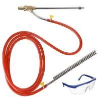 """M MINGLE Pressure Washer Sandblaster Kit, Wet Sandblasting Attachment, 1/4"""" Quick Connect, 5000 PSI"""