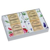 Touch Nature ALL NATURAL Handmade Soaps. 4pc 100g. Lavender. Geranium. Lemongrass. Tea Tree. No Parabens. No Sulphates. Bio-Degradable. Detoxifying.
