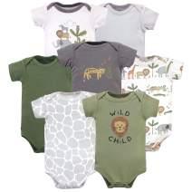 Hudson Baby unisex-baby Cotton Bodysuits