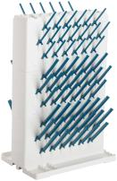 Bel-Art Lab-Aire II Double-Sided Non-Electric Benchtop Glassware Dryer; 3 Tier, 14.75 x 10 x 22.4 in. (F18933-0023)