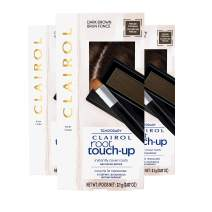 Clairol Root Touch-Up Concealing Powder, Dark Brown, 1 Count, Pack of 3