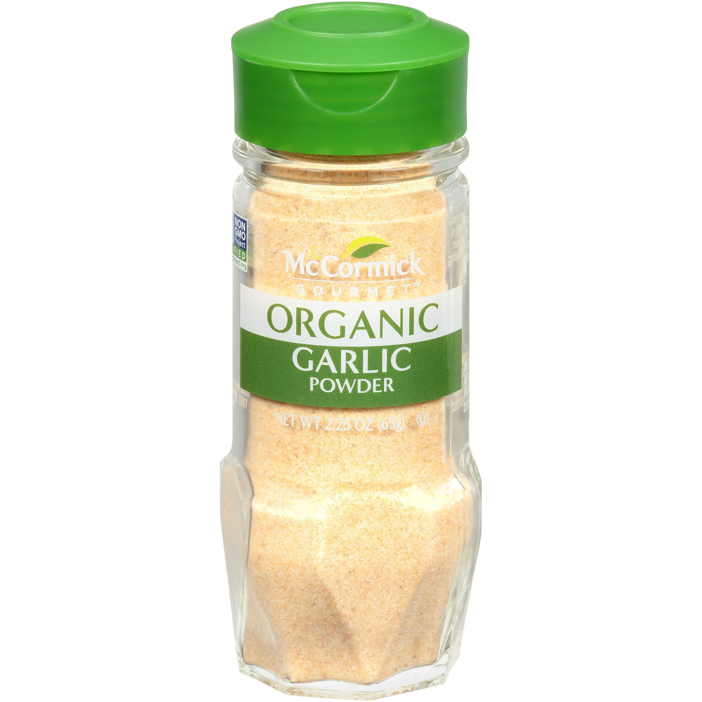 McCormick Gourmet, Garlic Powder, 2.25 oz