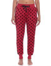 Noble Mount Winter Pants for Women Jogger Style - Fleece Pants Women, Plush Lounge Pants