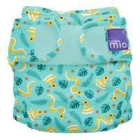 Bambino Mio Miosoft Cloth Diaper Cover, Jungle Snake, Size 1