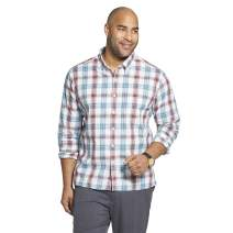 Van Heusen Men's Big and Tall Never Tuck Long Sleeve Shirt