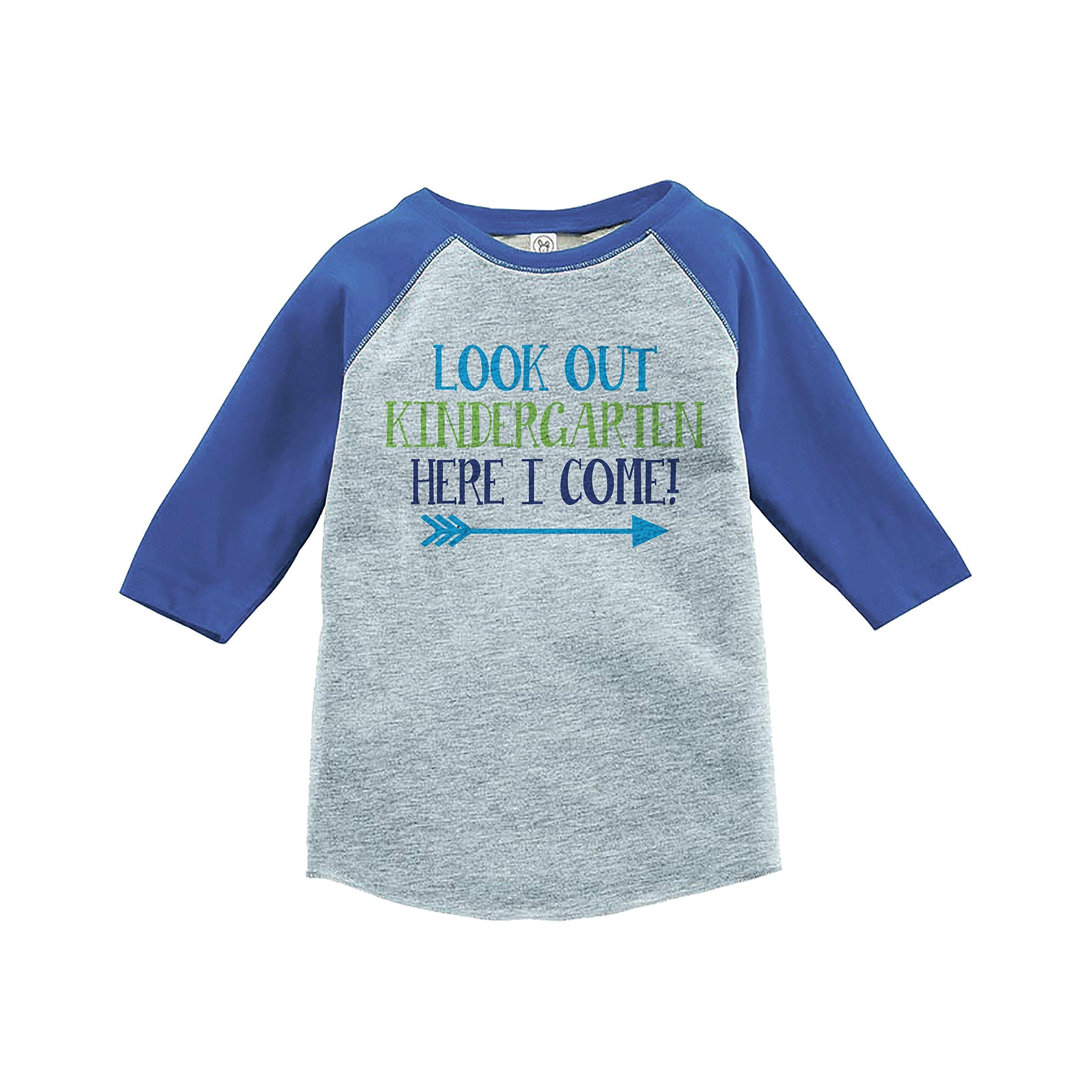 7 ate 9 Apparel Kids Look Out Kindergarten School Shirt