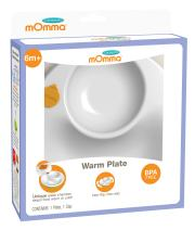 Lansinoh mOmma Mealtime Warm Plate for Toddlers, Green
