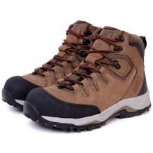 Golden Retriever Work Boots for Men Steel Toe Waterproof Slip Resistant Safety Construction Working Shoes