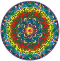 Marvelous Monkey 1000 PCS - Rainbow Mandala Jigsaw Puzzles Game for Adults and Kids