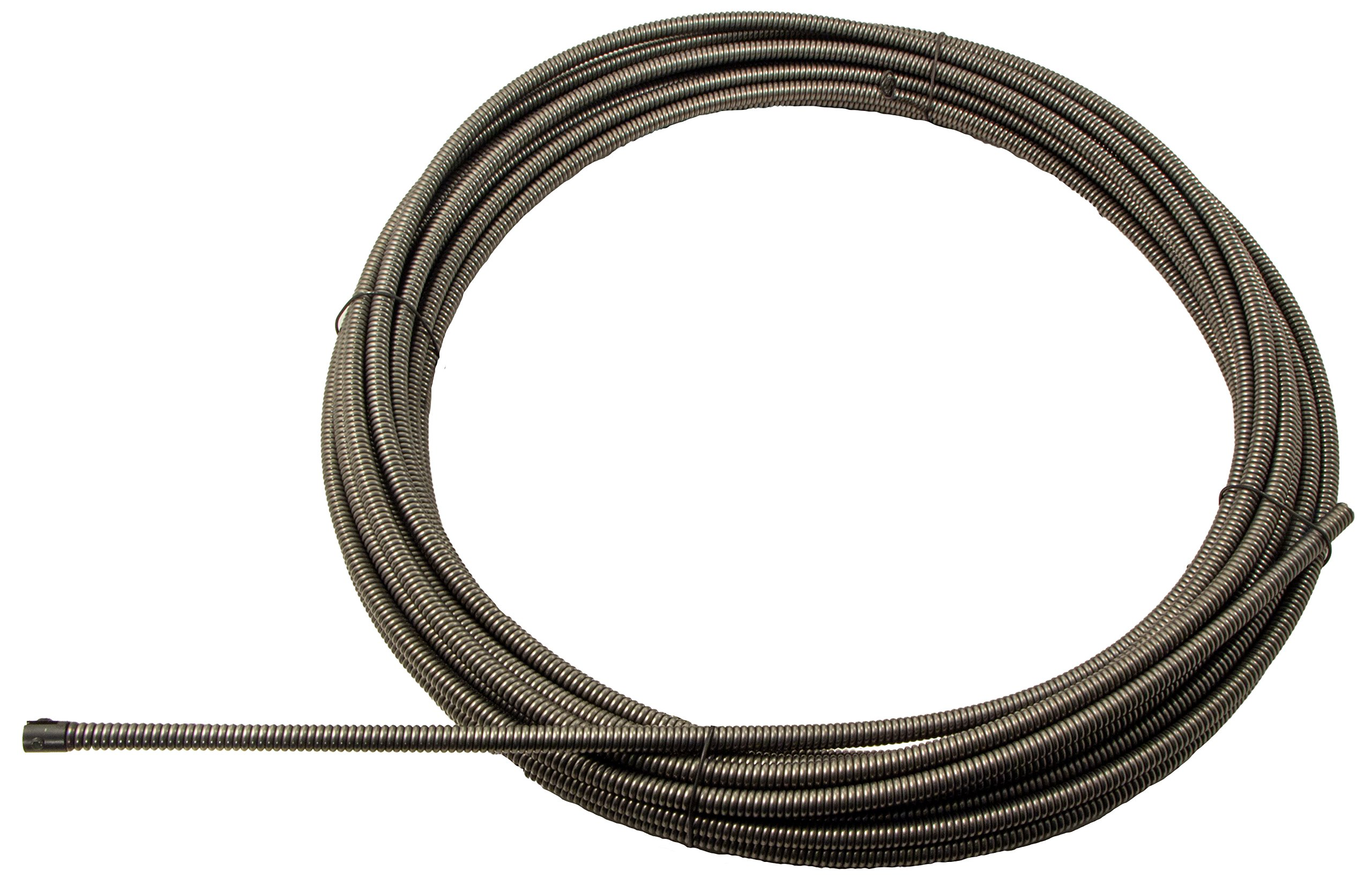 """1/2"""" x 100' Drain Cable - Aircraft Wire Inner Core, Slotted Ends (51100SLT)"""