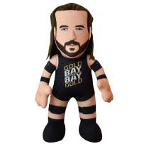 """Bleacher Creatures WWE Adam Cole 10"""" Plush Figure - A Wrestling Superstar for Play or Display"""