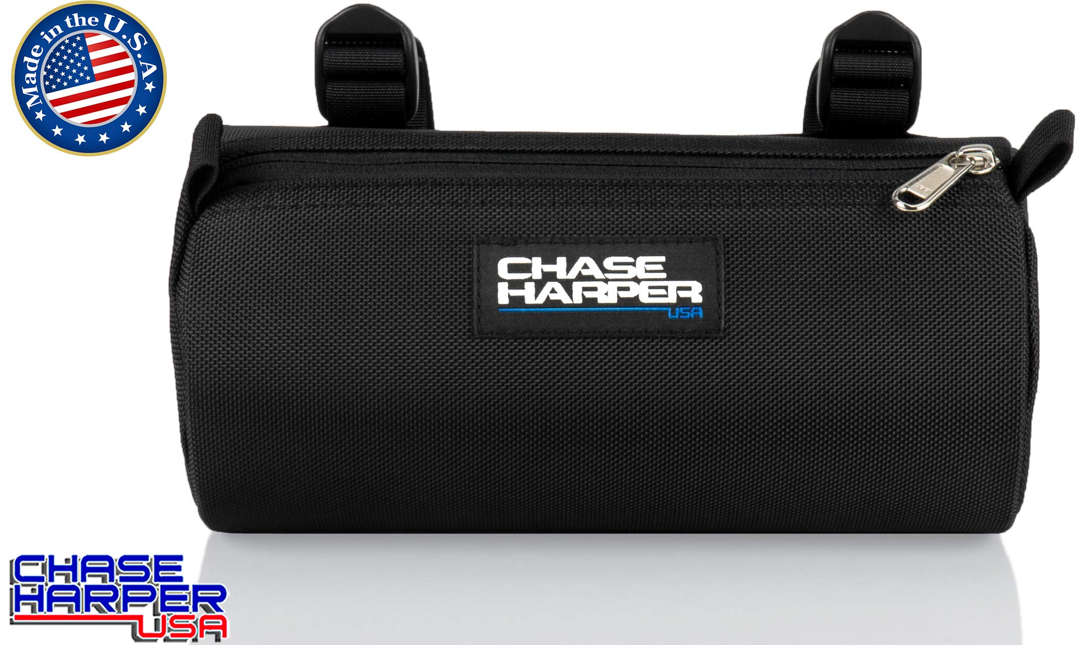 Chase Harper USA 10300 Black BC Barrel Bag - 3.5 Liters - Water-Resistant, Tear-Resistant, Industrial Grade Ballistic Nylon - Universal Fit