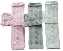 Toptim Baby Knitted Leg Warmers for Little Girls, Boys Toddlers & Children