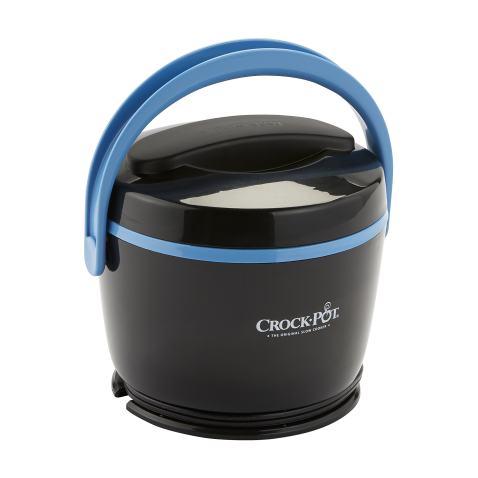 Crock-Pot SCCPLC200-BK-SHP Slow Cooker, Small, Black