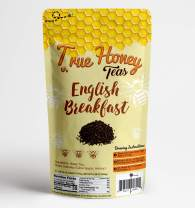 True Honey Tea Bags With Real Honey Granules, 24 Count (English Breakfast)