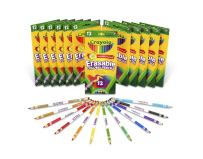 Crayola Erasable Colored Pencils, School Supplies, 12 Pack of 12 Count