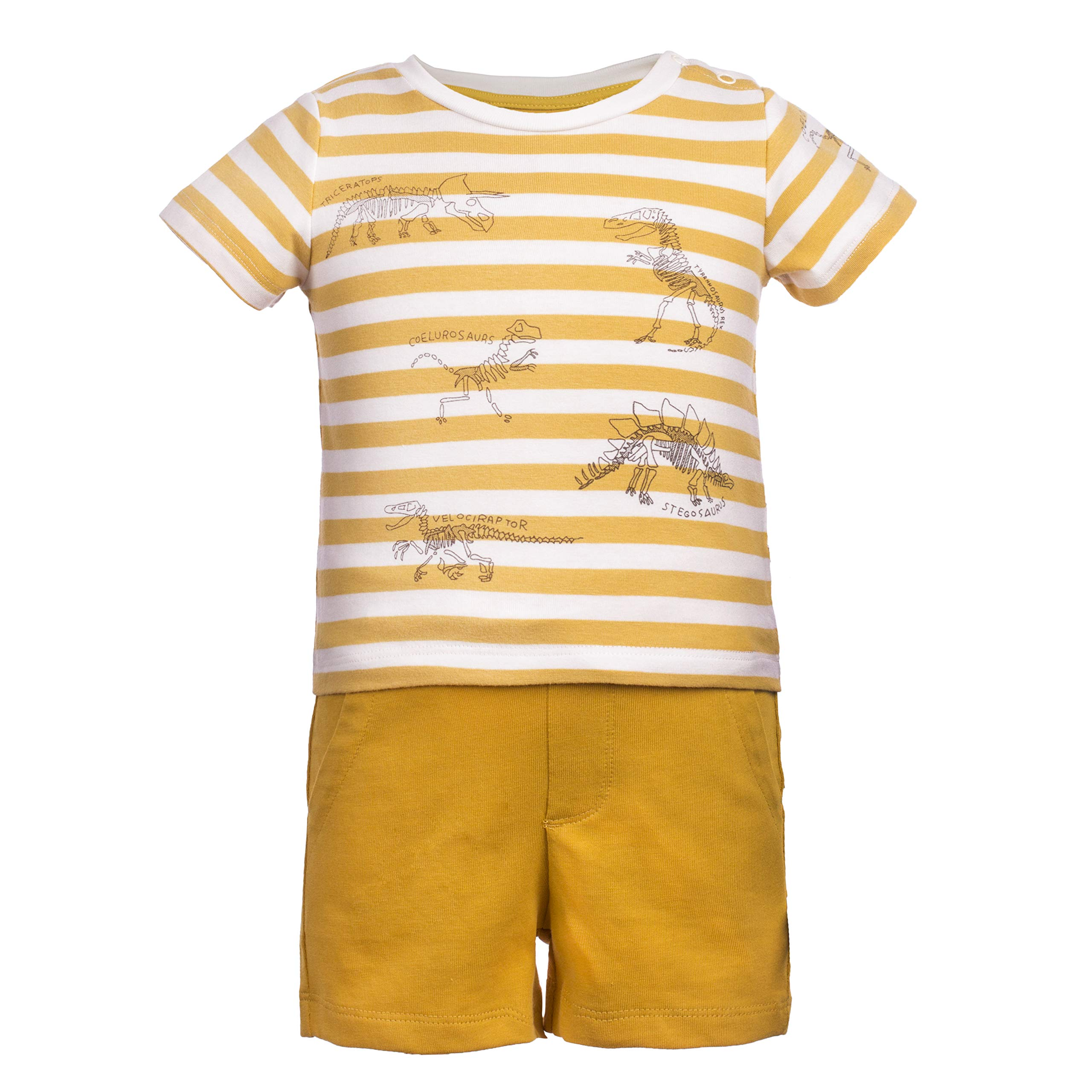 Toddler Baby Boys' Cotton Summer Outfit Set