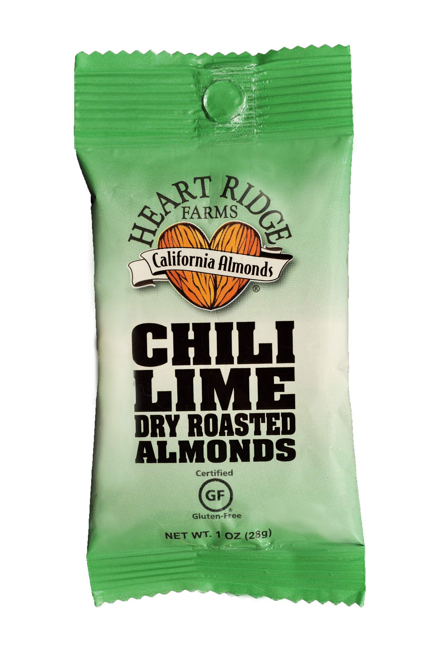 Chile Lime Dry Roasted Almonds, 1 ounce (Pack of 24)