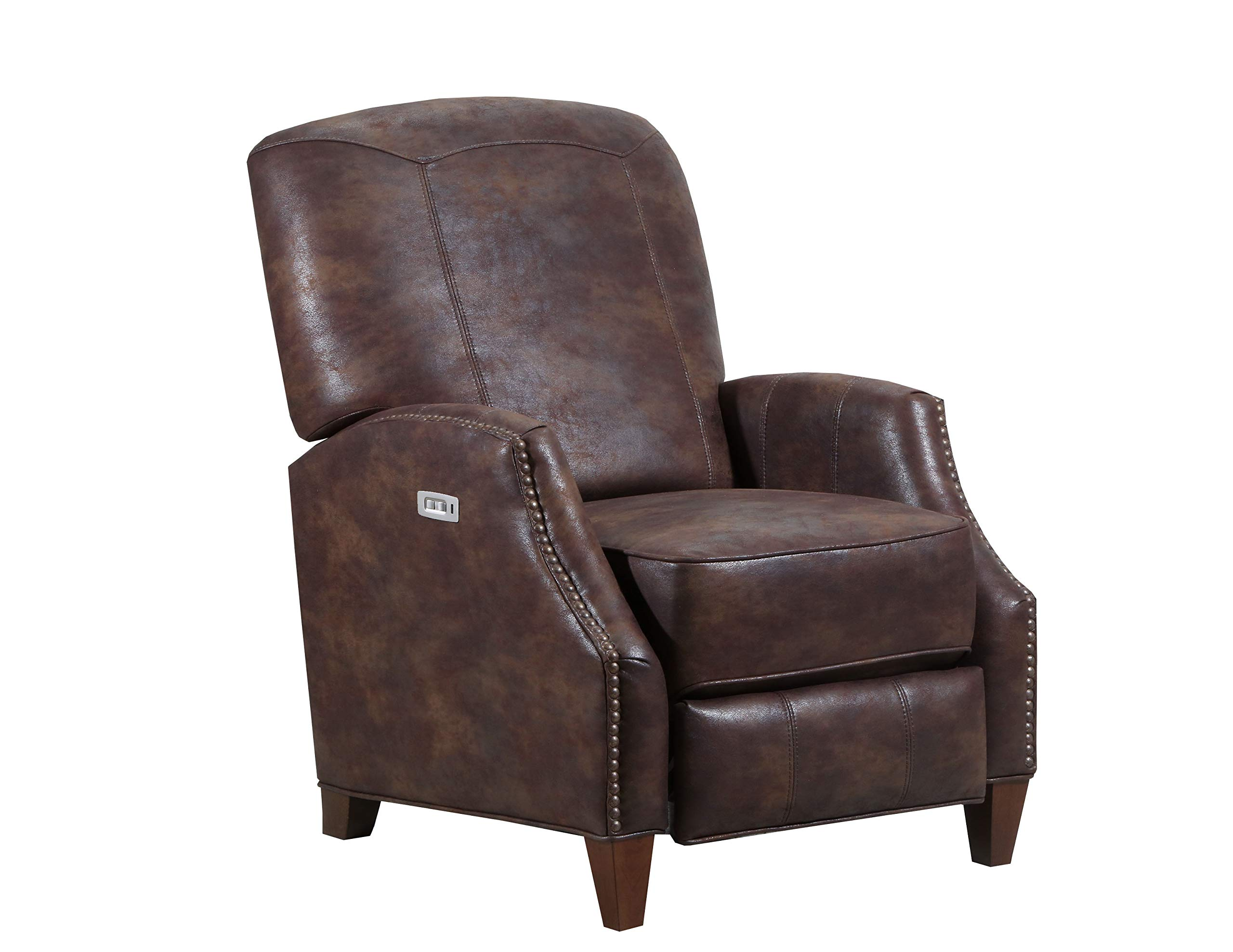 Lane Home Furnishings 6513P-11 Kane Saddle Power Hi Leg Recliner