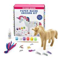 Kid Made Modern Paper Mache Unicorn Kit - Kids Art Project, Ages 6 and Up