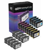 Speedy Inks Remanufactured Ink Cartridge Replacement for HP 932XL & HP 933XL High Yield (8 Black, 4 Cyan, 4 Magenta, 4 Yellow, 20-Pack)