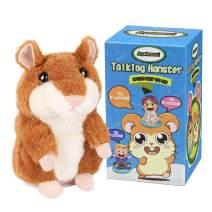 Zi Xi /& Zi Qi Talking Hamster Plush Toy Repeat What You Say Funny Kids Stuffed