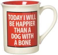 Our Name is Mud Dog Face Stoneware Mug, 16 oz.