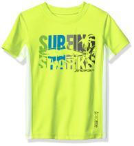 ZeroXposur Boys Swim Shirt Surf UPF 50+ Sun Protection Bathing T-Shirt