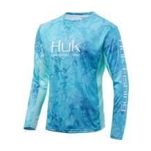 Huk Men's Icon X Camo Fade Long Sleeve Shirt