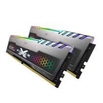 Silicon Power 16GB (8GBx2) XPOWER RGB Turbine Gaming DDR4 3200MHz (PC4 25600) 288-pin CL16 1.35V UDIMM Desktop Memory Module - Low Voltage (SP016GXLZU320BDB)
