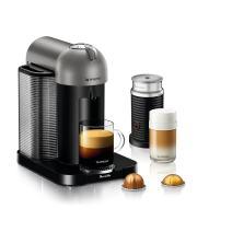 Nespresso by Breville BNV250TTN1BUC1 Vertuo Coffee and Espresso Machine, Titan