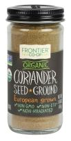 Frontier Natural Products Coriander Seed, Og, Ground, 1.66-Ounce
