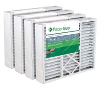 FilterBuy 20x20x5 Honeywell FC35A1019, FC100A1011, FC200E1011 Compatible Pleated AC Furnace Air Filters (MERV 13, AFB Platinum). Also replaces Lennox X0585, X8305, X8308. 4 Pack.