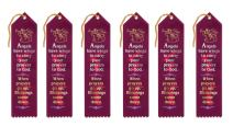 Beistle AR857 Angels Have Wings Ribbons, 2 by 8-Inch, 6-Pack