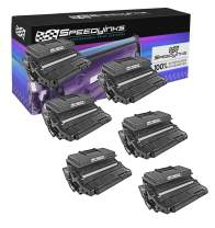Speedy Inks Remanufactured Toner Cartridge Replacement for Xerox Phaser 3600 106R01371 High Capacity (Black, 6-Pack)