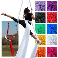 Firetoys Aerial Silk (Aerial Fabric / Tissus) - Golden Yellow-14 metres